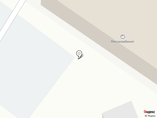 Ялуторовский мясокомбинат на карте Ялуторовска