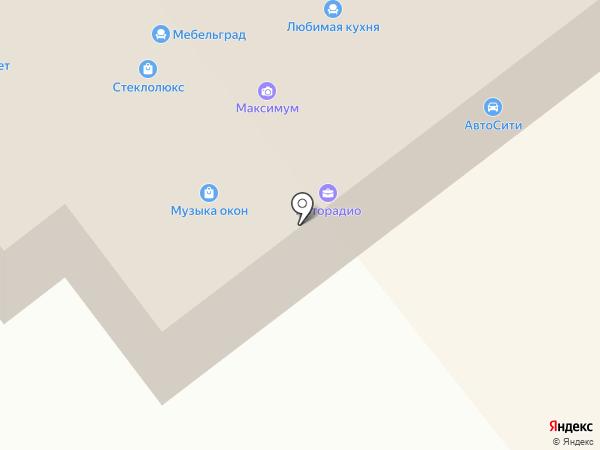 Электро на карте Ялуторовска