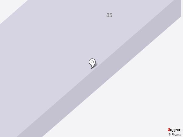 Детский сад №6 на карте Ялуторовска