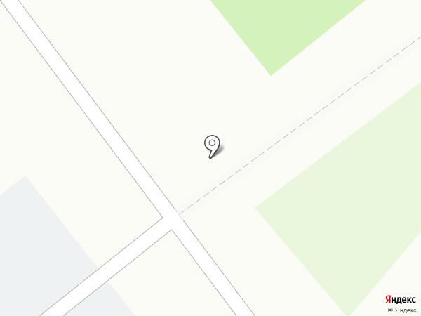 Солнечный на карте Ялуторовска