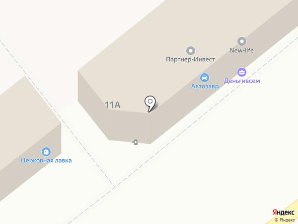 Граф на карте Ялуторовска