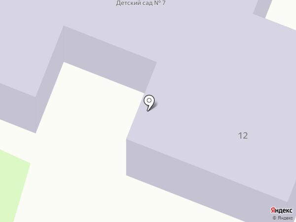 Детский сад на карте Ялуторовска
