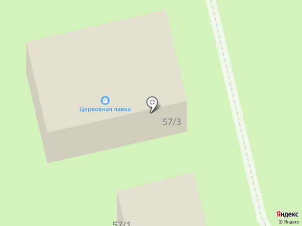 Церковная лавка на карте Ялуторовска