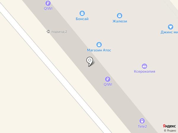 Бонсай на карте Ялуторовска