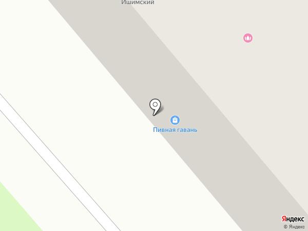 ЮТеК на карте Ялуторовска