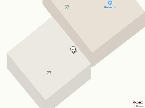 Автомойка на Тюменской на карте Ялуторовска