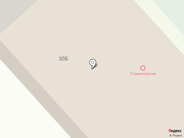 Стоматологическая поликлиника на карте Ялуторовска