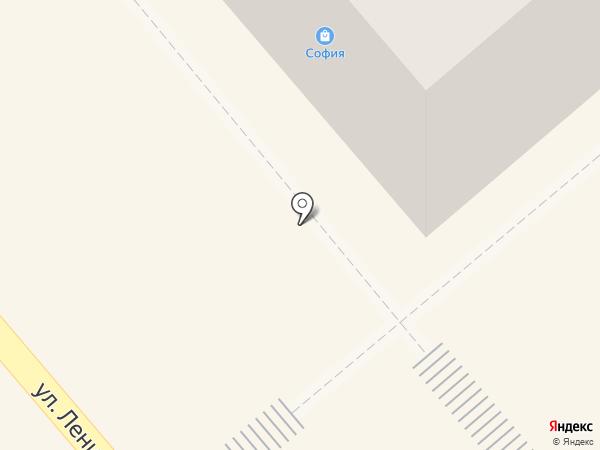 Магазин трикотажа на карте Ялуторовска