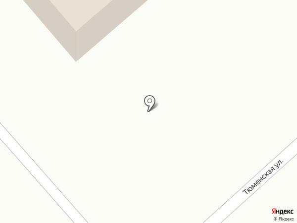 Управление Федерального Казначейства по Тюменской области на карте Ялуторовска