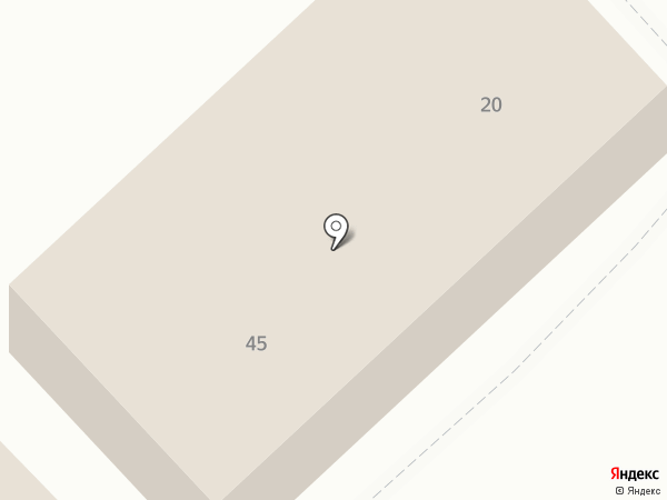 Силуэт на карте Ялуторовска