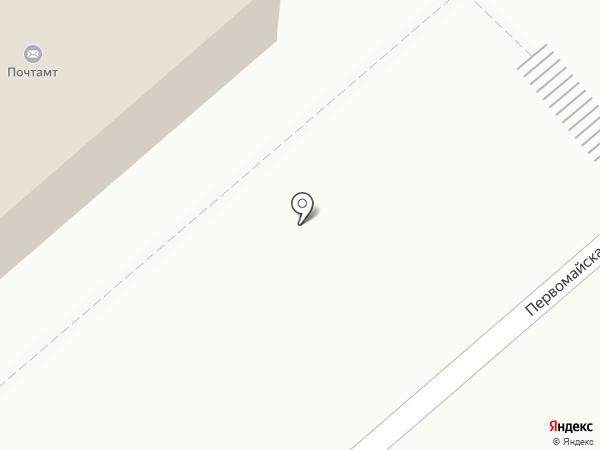 Банкомат, Почта Банк, ПАО на карте Ялуторовска