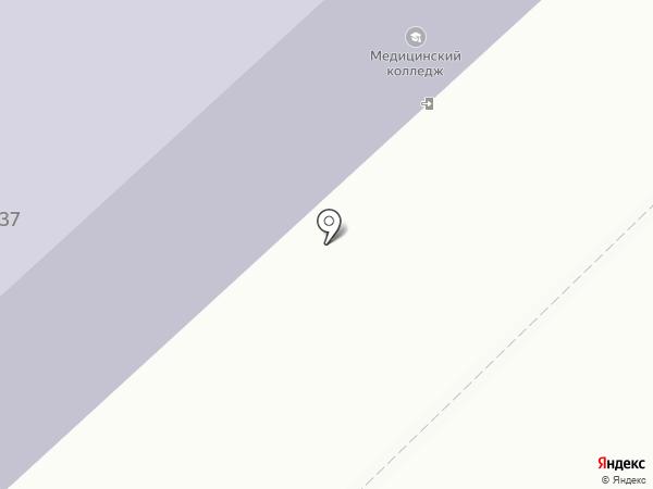 Тюменский медицинский колледж на карте Ялуторовска