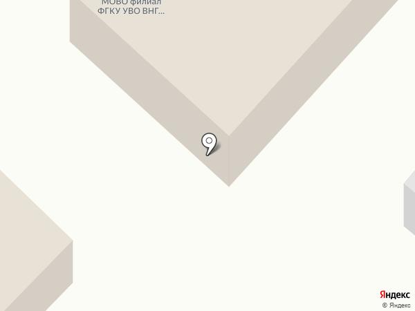 Отдел вневедомственной охраны Управления МВД РФ по г. Ялуторовску на карте Ялуторовска