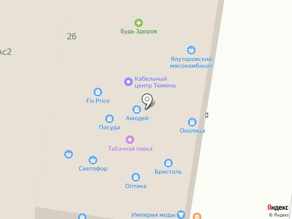 СВЕТОФОР на карте Заводоуковска