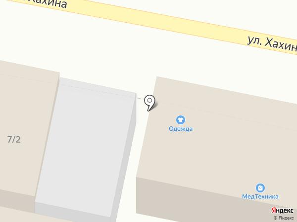 Преображение на карте Заводоуковска