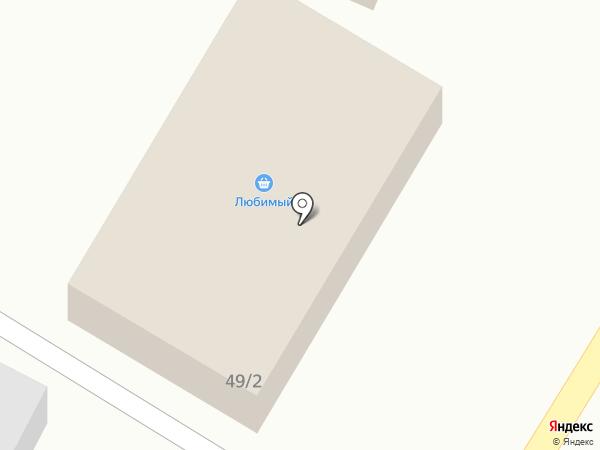 Любимый на карте Заводоуковска