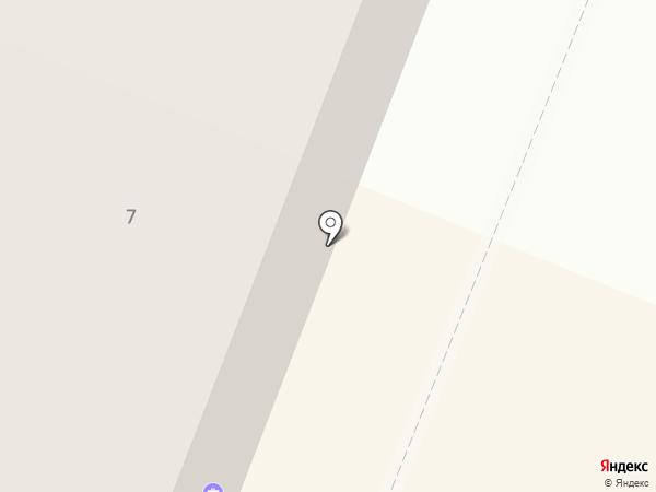 Гермес на карте Заводоуковска