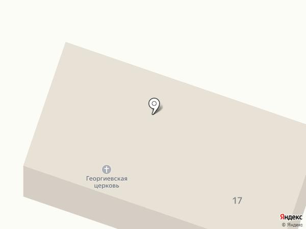 Храм во имя святого великомученика Георгия Победоносца на карте Заводоуковска