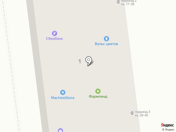 Копейка на карте Заводоуковска