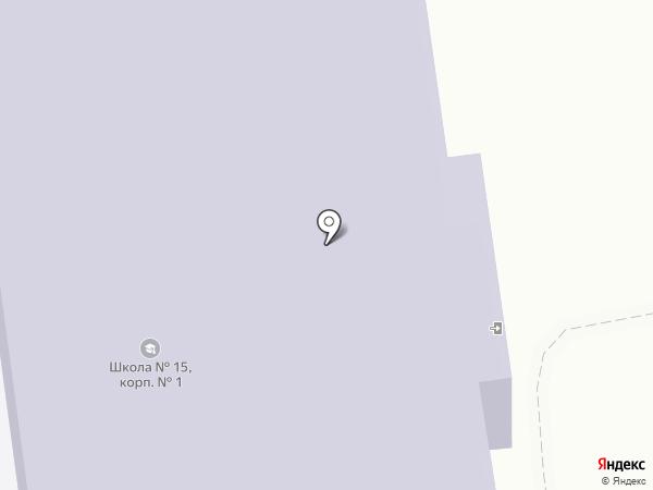 Средняя общеобразовательная школа №15 с дошкольным отделением на карте Тобольска
