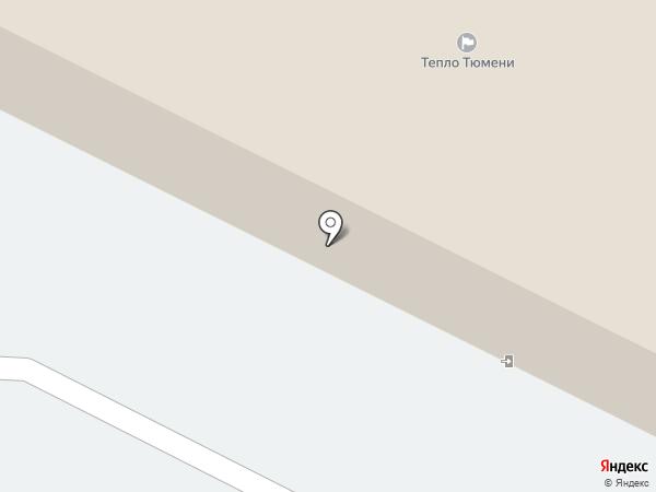 Тепло Тюмени, ПАО на карте Тобольска