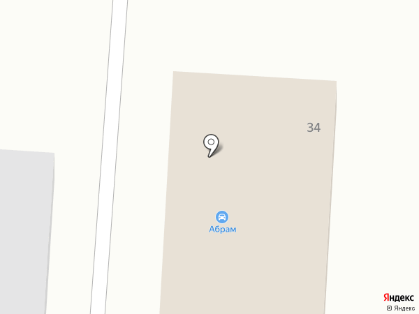 Абрам на карте Тобольска