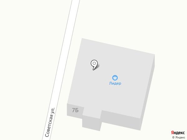 Лидер на карте Тобольска