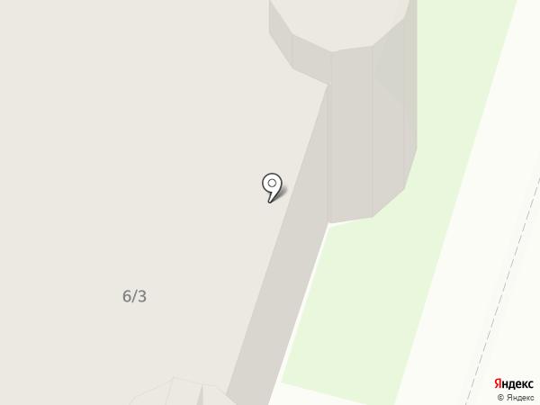 Никас на карте Тобольска