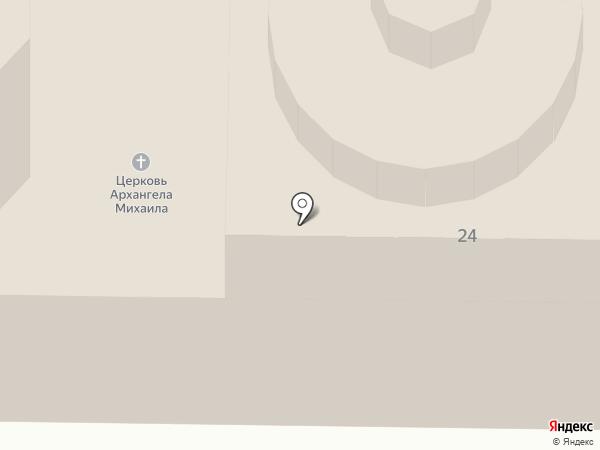 Храм Архангела Михаила на карте Тобольска