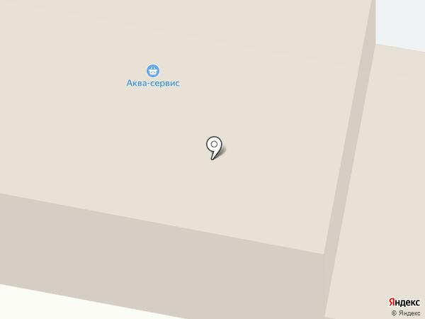 Мастерок на карте Тобольска