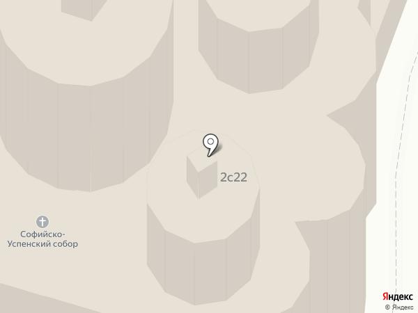 Софийско-Успенский кафедральный собор на карте Тобольска