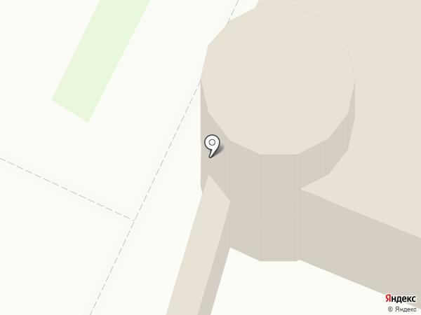 Ситцевый край на карте Тобольска