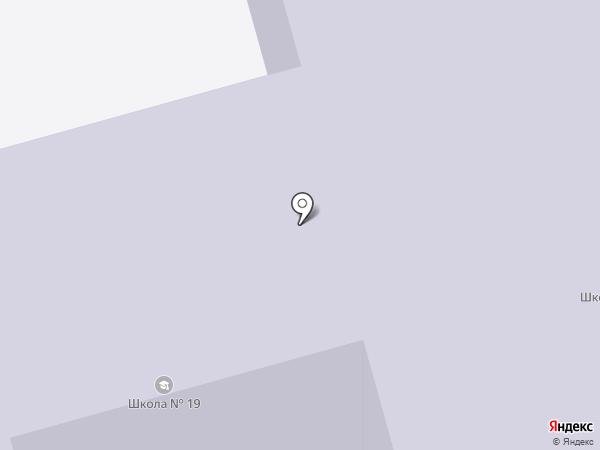 Специальная коррекционная школа №19 на карте Тобольска