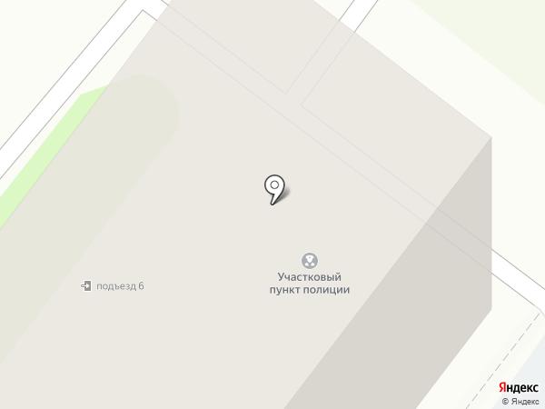 Участковый пункт полиции на карте Тобольска