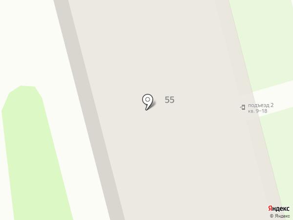 Продовольственный магазин на карте Тобольска