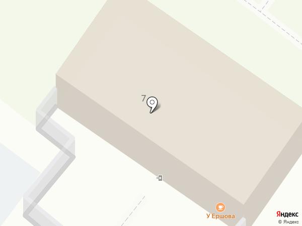 У Ершова на карте Тобольска
