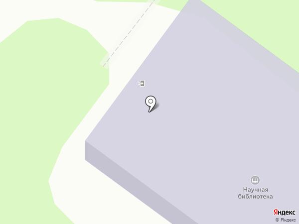 Научная библиотека на карте Тобольска