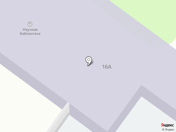 Научная библиотека Тобольской комплексной научной станции на карте Тобольска