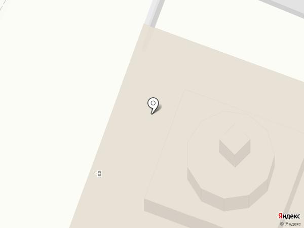 Губернский на карте Тобольска