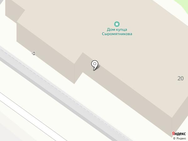 Трактир Ильинский на карте Тобольска