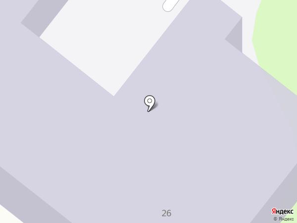 ТюмГУ на карте Тобольска
