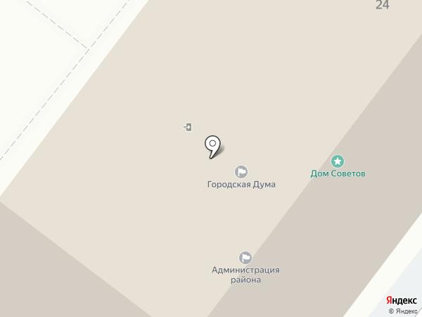 Тобольская городская Дума на карте Тобольска