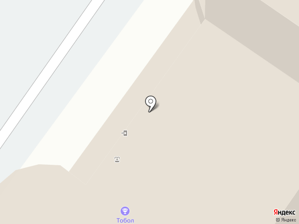 Чердак на карте Тобольска