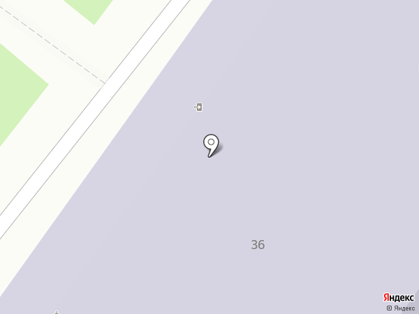 Средняя общеобразовательная школа №13 на карте Тобольска