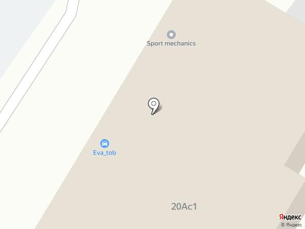 Автостекло на карте Тобольска