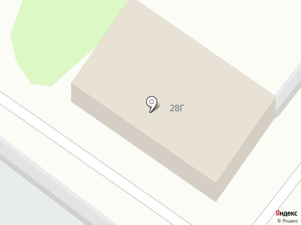 Автомойка на карте Тобольска