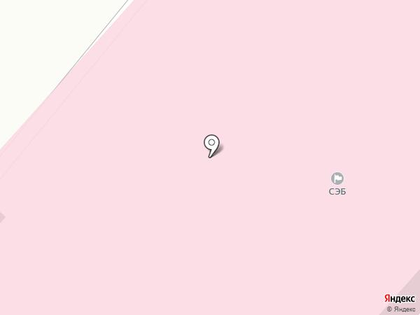 Энже на карте Тобольска