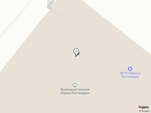 Управление вневедомственной охраны на карте Тобольска