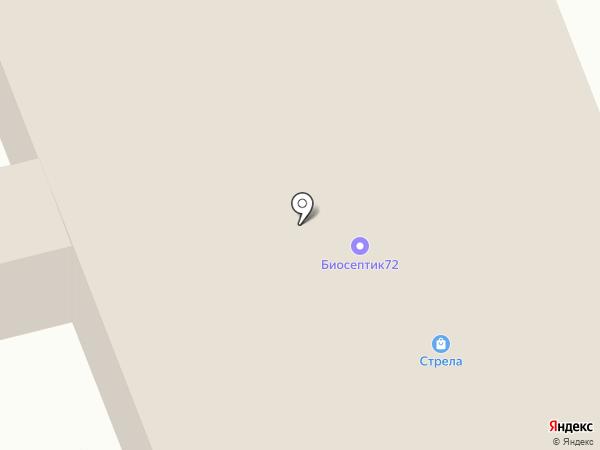 Столярыч на карте Тобольска