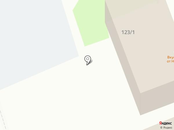Анкер на карте Тобольска
